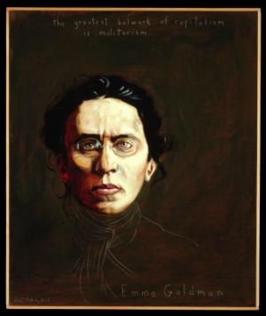 Portrait of Emma Goldman