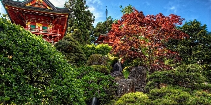 Japanese Tea Garden, Living in the Garden