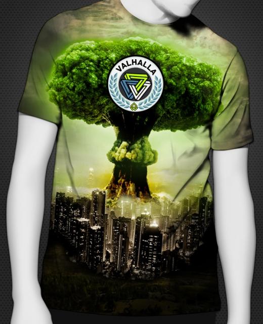 Valhalla TreeXplosion Shirt